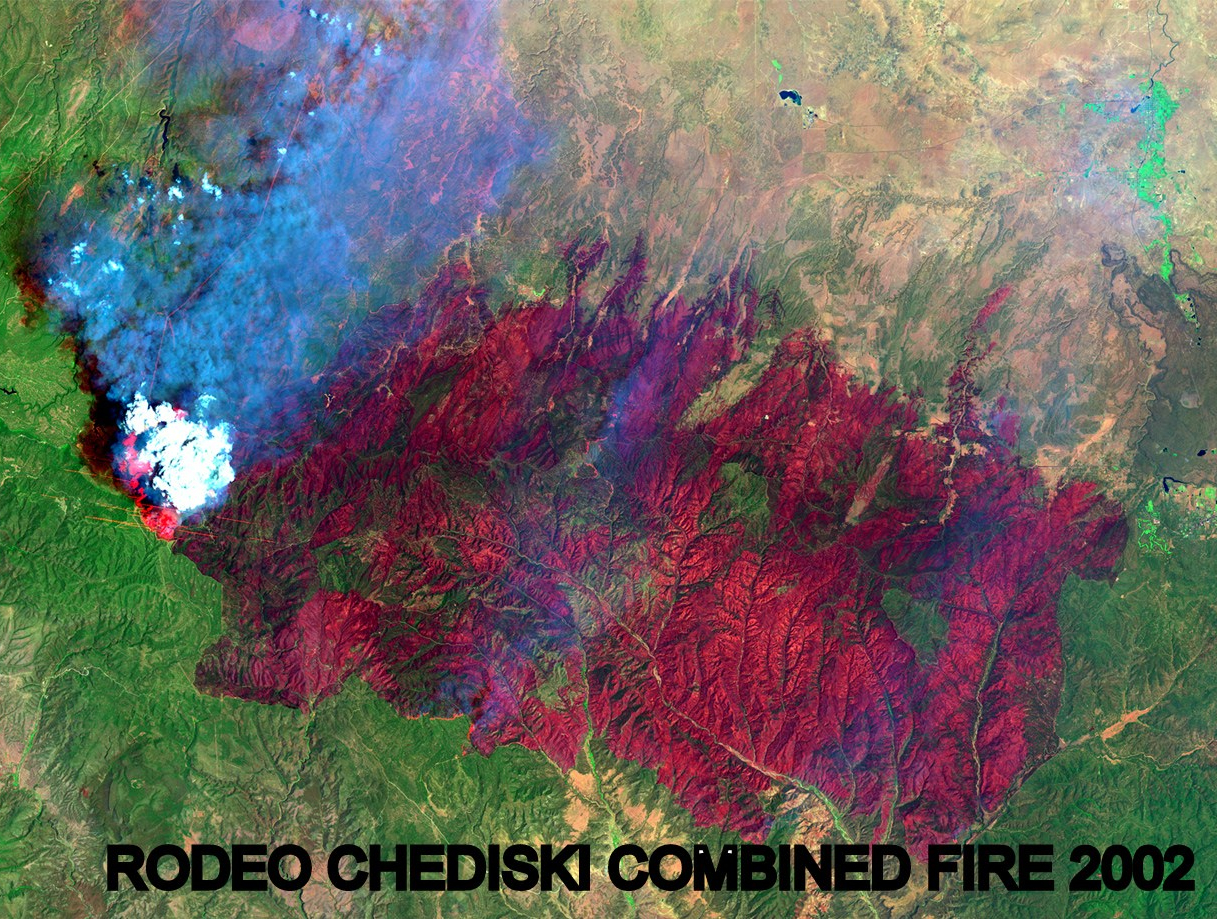 Landsat Rodeo Chediski Combined